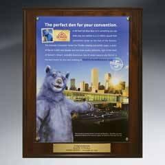 Certificate/Overlay Plaque