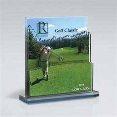 Golf Triple Layer Cutout on Base