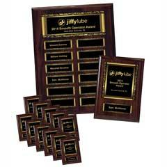 Easy Perpetual Scroll Plaque Package