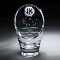 Value Line Glass Slant front Vase (sml)