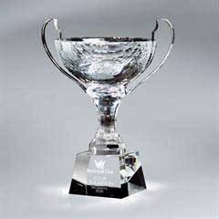 Crystal Loving Cup (med)