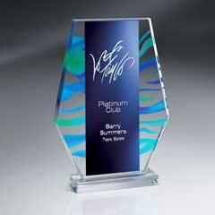 Aquus Series Lucite Monument Award