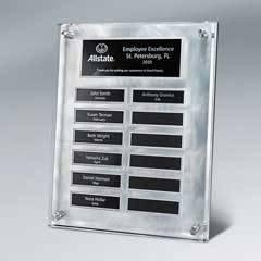 Master Plaque w/ 12 Plate Release Program