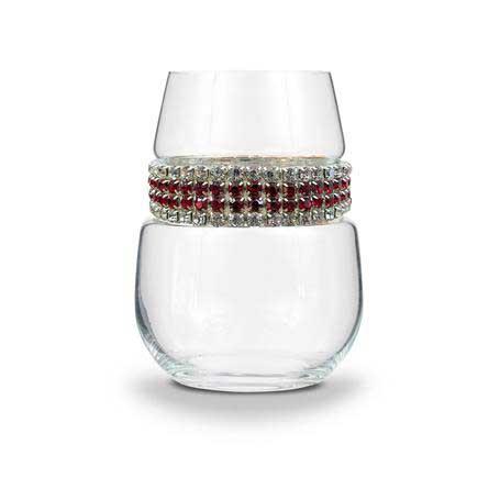 BWSBX - Blank Stemless Wine Glass Bordeaux Bracelet