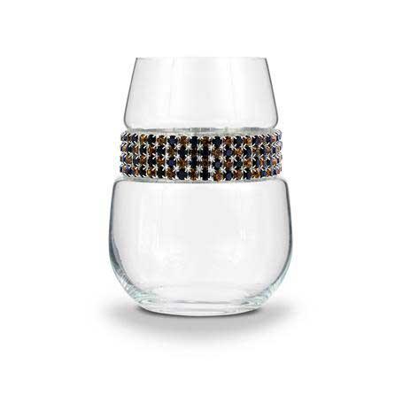BWSCG - Blank Stemless Wine Glass Cognac Bracelet
