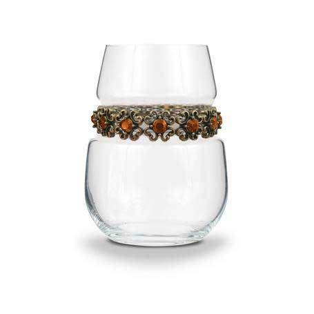 BWSFR - Blank Stemless Wine Glass Francesca Bracelet