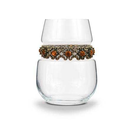 BWSFR - Blank Stemless Wine Glass Francesca Bracelet