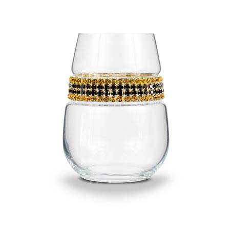 BWSGC - Blank Stemless Wine Glass Gold Coast Bracelet