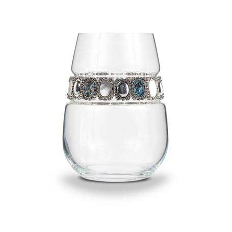 BWSGM - Stemless Wine Glass Gemstone Bracelet
