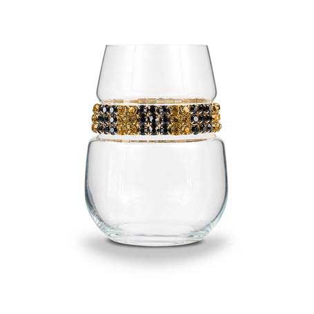 BWSMC - Blank Stemless Wine Glass Monte Carlo Bracelet