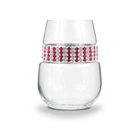 BWSRB - Blank Stemless Wine Glass Ruby Bracelet