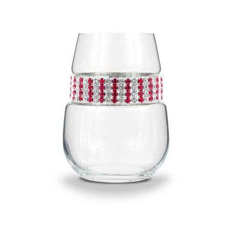 BWSRB - Stemless Wine Glass Ruby Bracelet