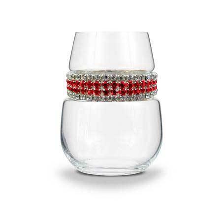 BWSRC - Blank Stemless Wine Glass Red Carpet Bracelet