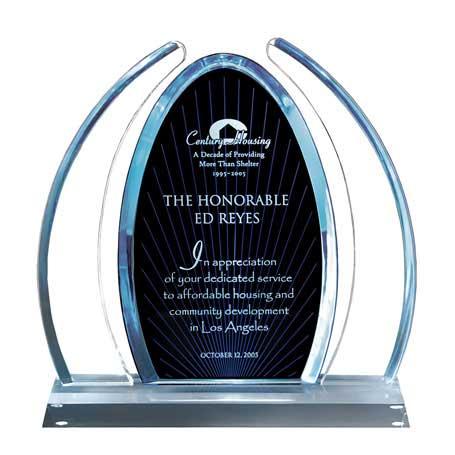 C0612 - Enterprise Large Blue Dynasty Award