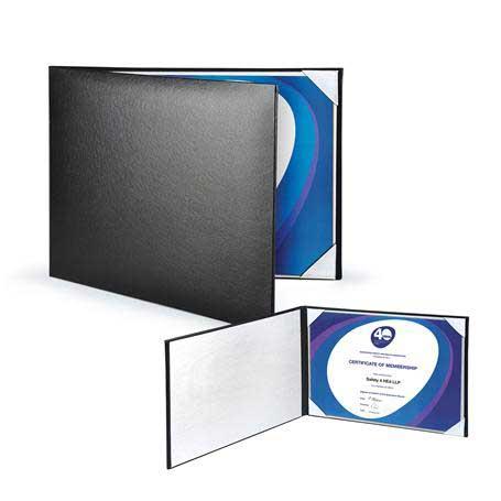 C4807 - Padded Leatherette Certificate Holder