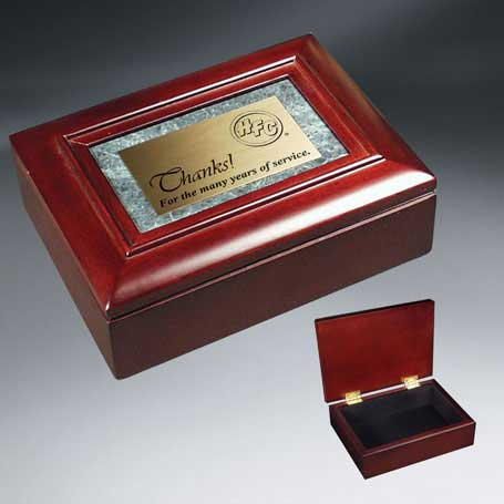 C5650 - Rosewood Piano Finish and Marble Gift Box