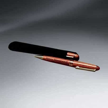 C5855 - Rosewood Pen in Velvet Pouch