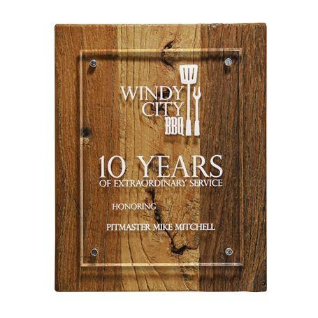 CD1012A - Reclaimed Wood Plaque - 8 x 10