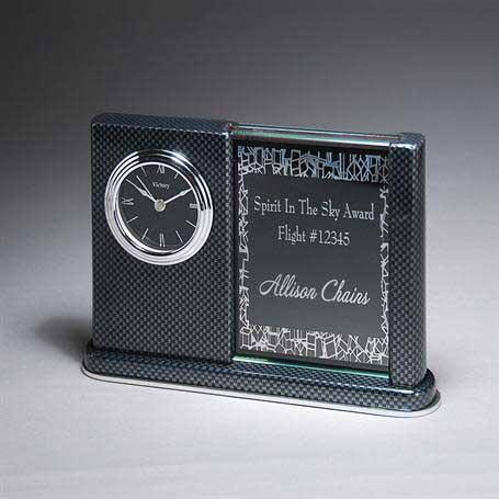 CD1015 - Carbon Fiber Desk Clock