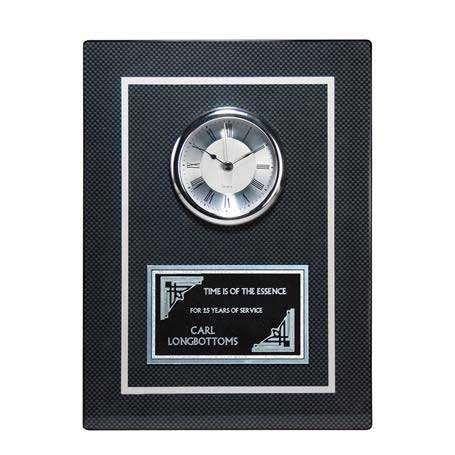 CD1016 - Carbon Fiber Clock Plaque