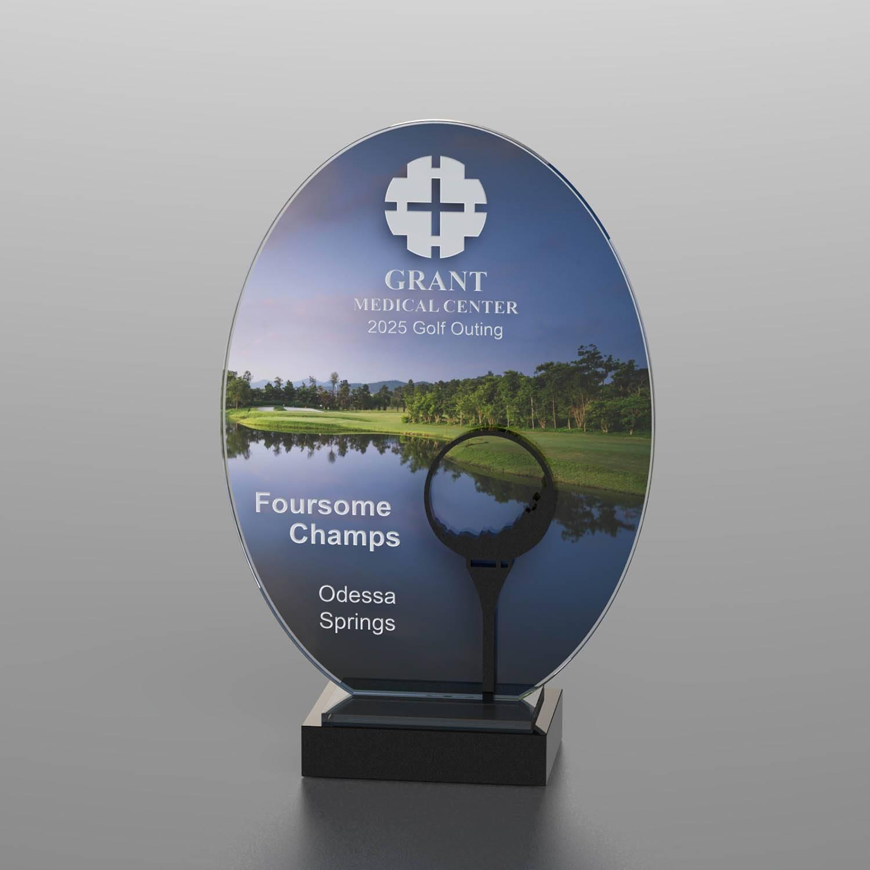 CD1053BT - Golf Course Silhouette Award