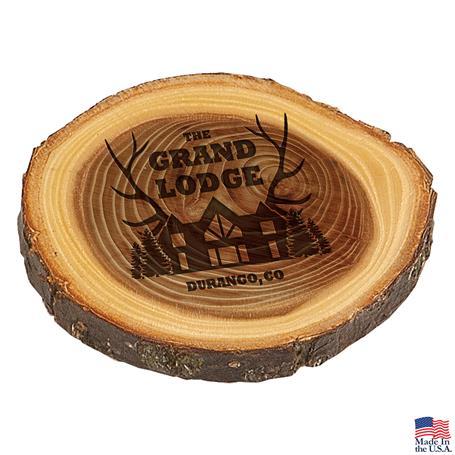 CD1066 - Elmwood Log Coaster