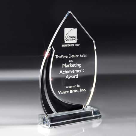 CD21B - Large Multi-Dimensional Black Vista Award