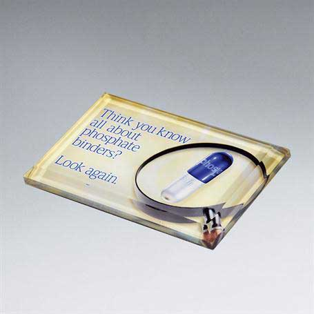 CD225B - Beveled Paperweight