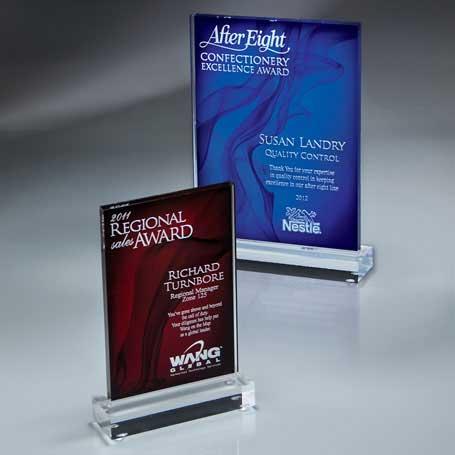 CD310A* - Medium Rectangle Vapor Mist Award