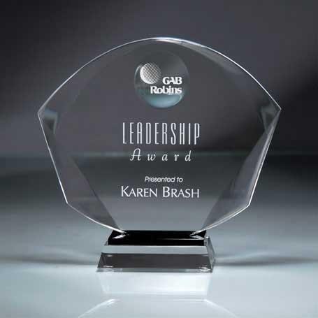 CD494 - Deep Beveled Shield Award