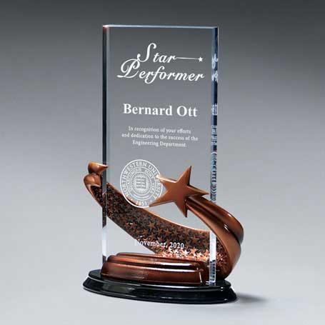 CD832 - Bronze Brilliance Star Award