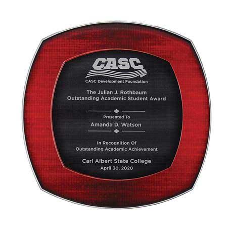 CD973A* - Florentia Acrylic Plaque