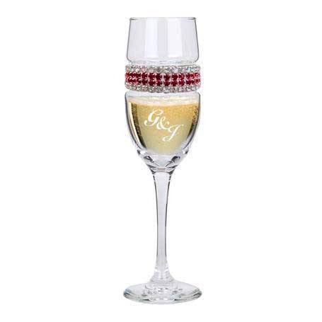 CFBD - Champagne Flute Bordeaux Bracelet