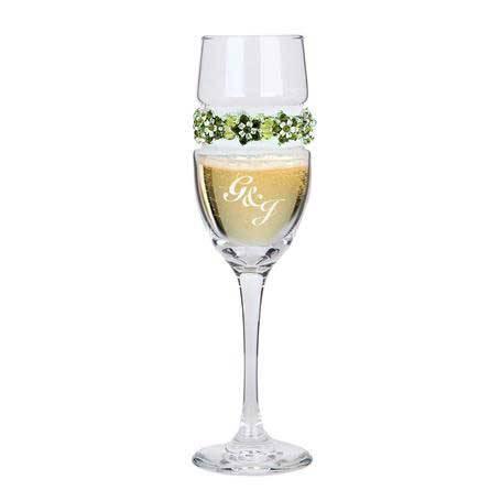 CFGP - Champagne Flute Garden Party Bracelet