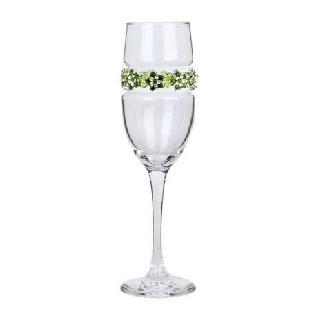 BCFGP - Blank Champagne Flute Garden Party Bracelet