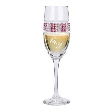 CFPI - Champagne Flute Pink Ice Bracelet