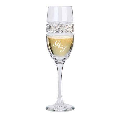 CFSC - Champagne Flute Silver Lace Bracelet