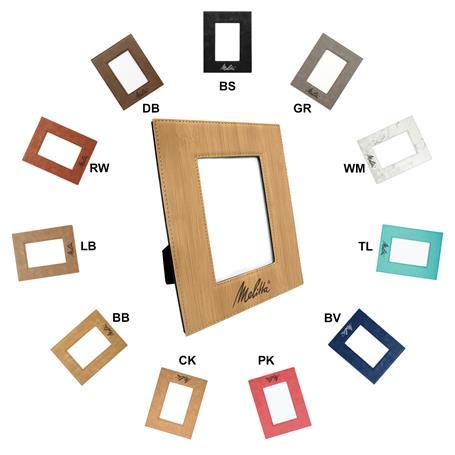 CM248A* - Leatherette 4 x 6 Photo Frame