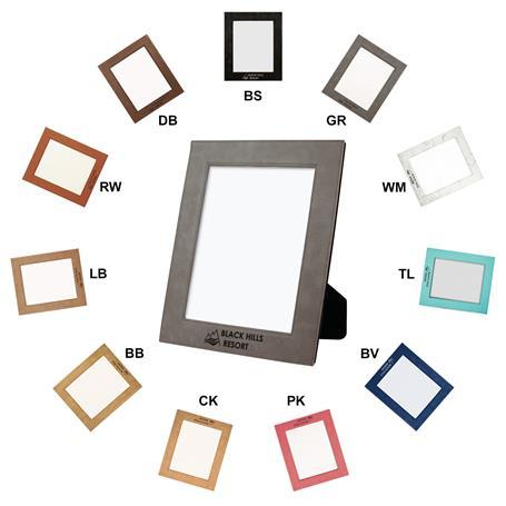 CM248C* - Leatherette 8 x 10 Photo Frame