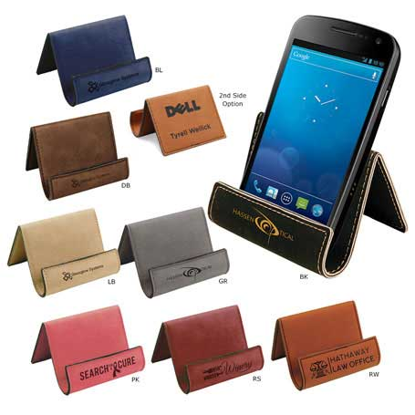 CM296* - Leatherette Phone Easel