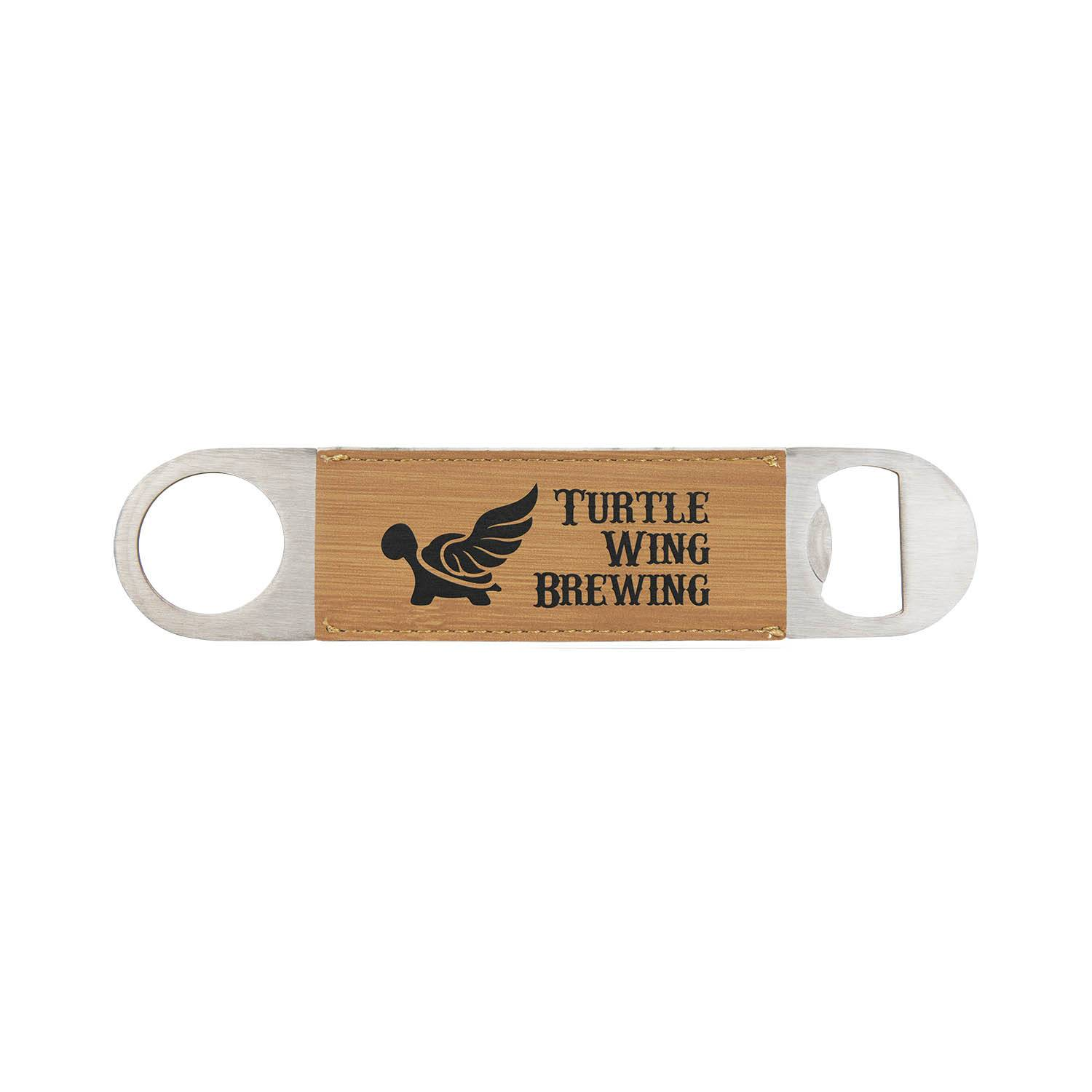 CM332BB - Leatherette Bottle Opener