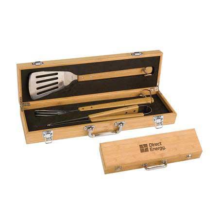 CM416 - Bamboo BBQ Set