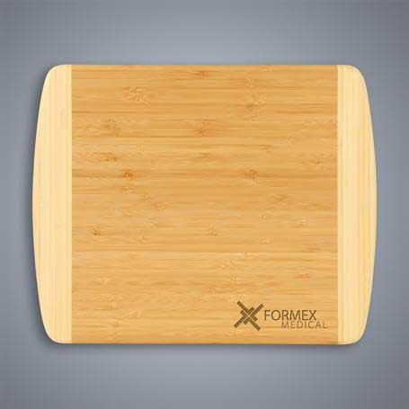 CM419A - 2-Tone Bamboo Cutting Board - Small