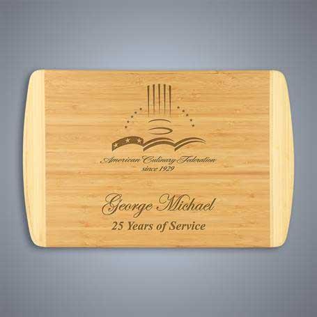 CM419B - 2-Tone Bamboo Cutting Board - Large