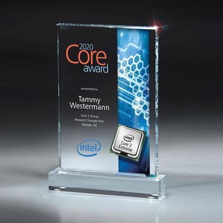 DCCD425CU - Large Digi-Color Lucite Award