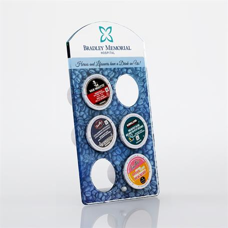 DS2100A - Small Arch Coffee Pod Display
