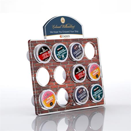 DS2100B - Large Arch Coffee Pod Display