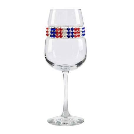 BFWAM - Blank Footed Wine Glass Americana Bracelet