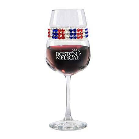 FWAM - Footed Wine Glass Americana Bracelet