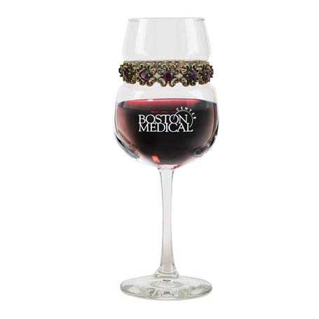 FWAP - Footed Wine Glass Antique Purple Bracelet